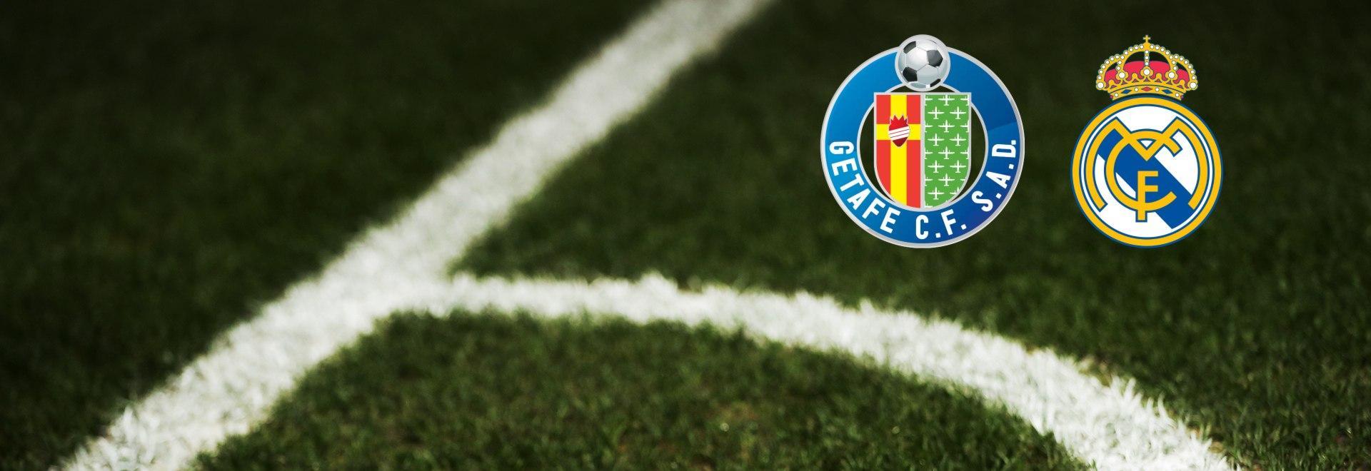 Getafe - Real Madrid. 33a g.