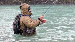 A pesca in Talvera