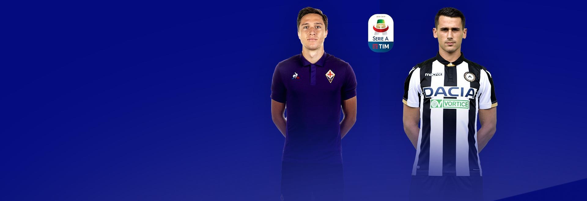 Fiorentina - Udinese. 3a g.