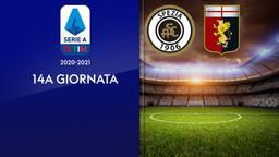 Spezia - Genoa. 14a g.