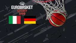 1999: Italia - Germania. Fase a gironi