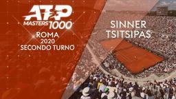 Sinner - Tsitsipas. 2° turno