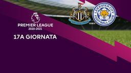 Newcastle - Leicester. 17a g.