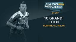 Robinho al Milan