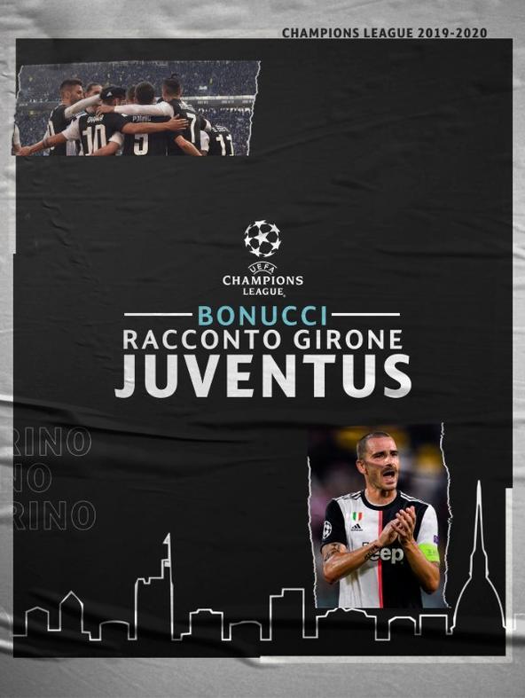 Bonucci - Racconto del girone Juventus