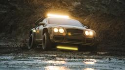 Bentley GT: sfida fuori strada