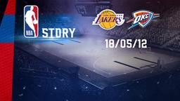 LA Lakers - Oklahoma City 18/05/12. West. Conf. Semifinals Gara 3
