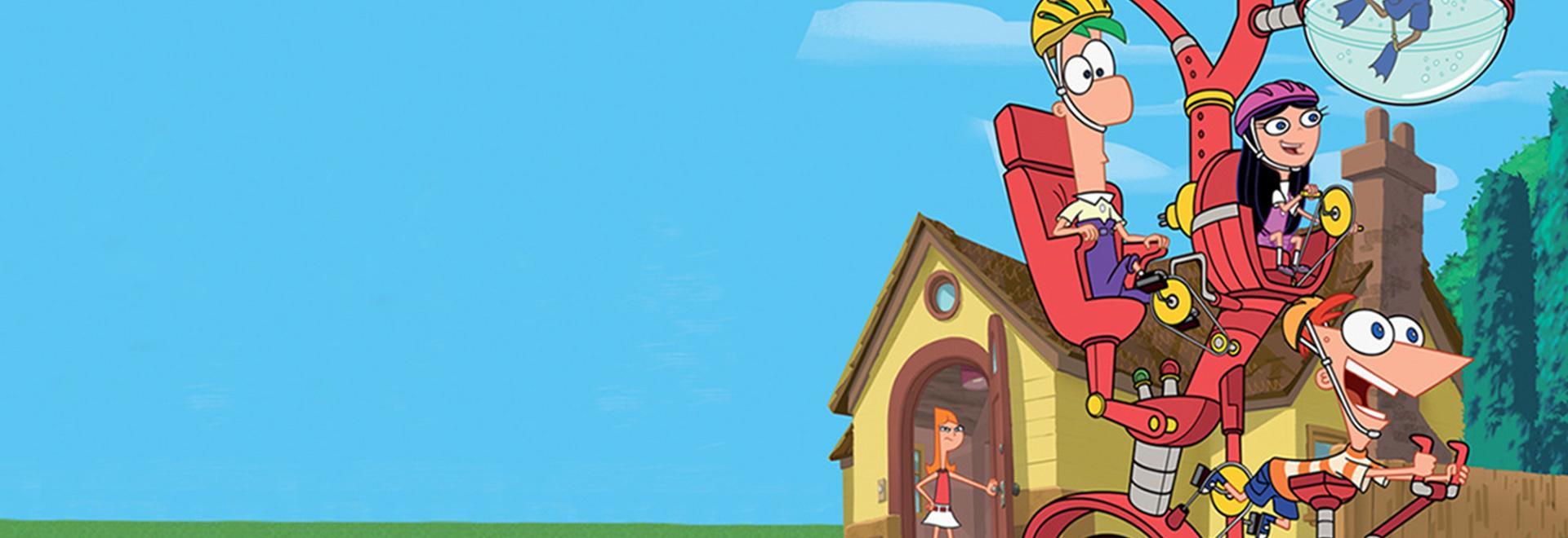 Un Natale in famiglia per Phineas e Ferb