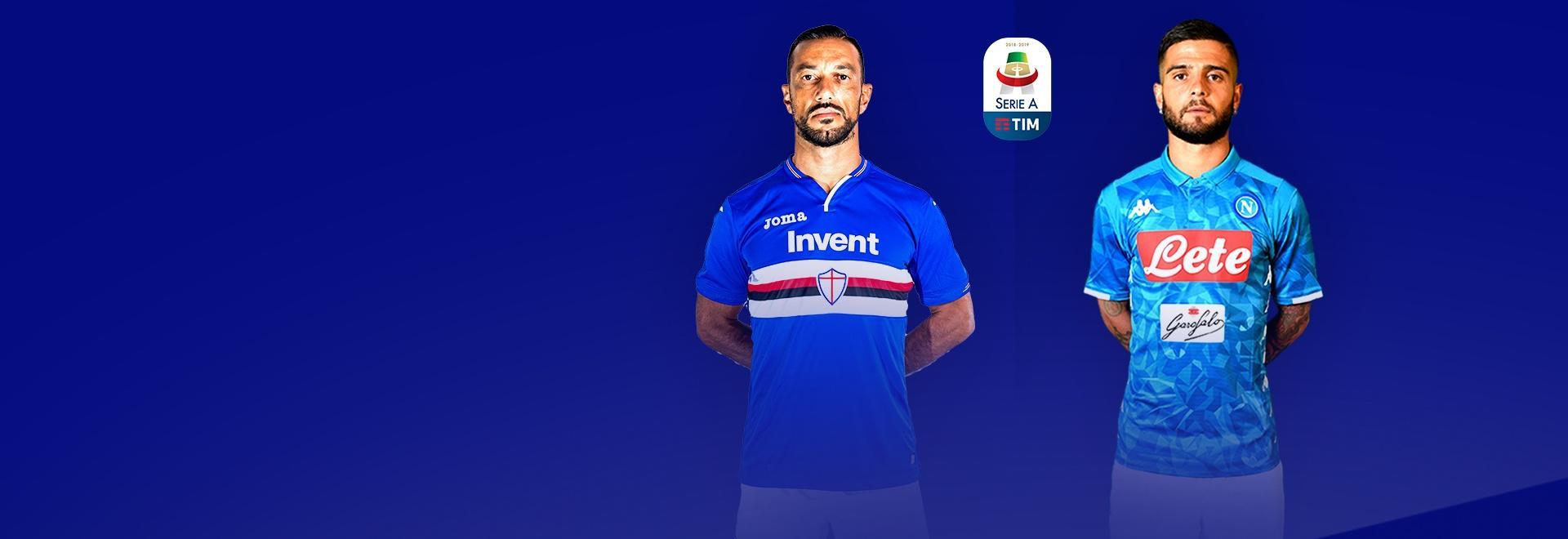 Sampdoria - Napoli. 3a g.