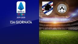 Sampdoria - Udinese. 13a g.