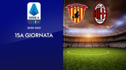 Benevento - Milan. 15a g.