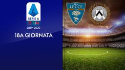 Lecce - Udinese. 18a g.