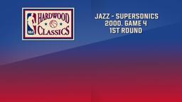 Jazz - SuperSonics 2000. Game 4. 1st Round