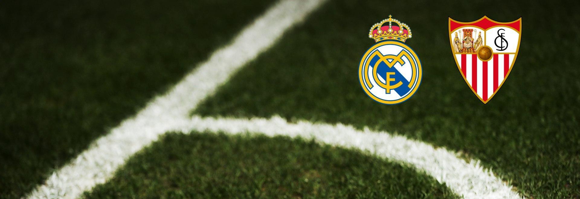 Real Madrid - Siviglia. 35a g.