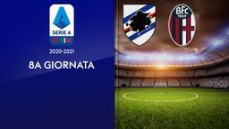 Sampdoria - Bologna. 8a g.