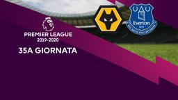 Wolverhampton - Everton. 35a g.