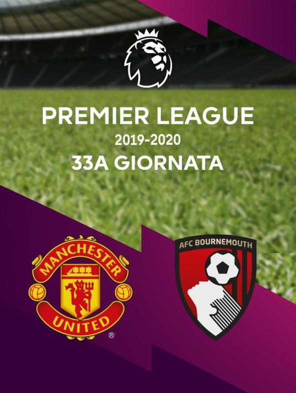 Man Utd - Bournemouth. 33a g.