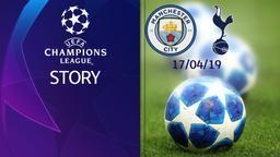Man City - Tottenham 17/04/19