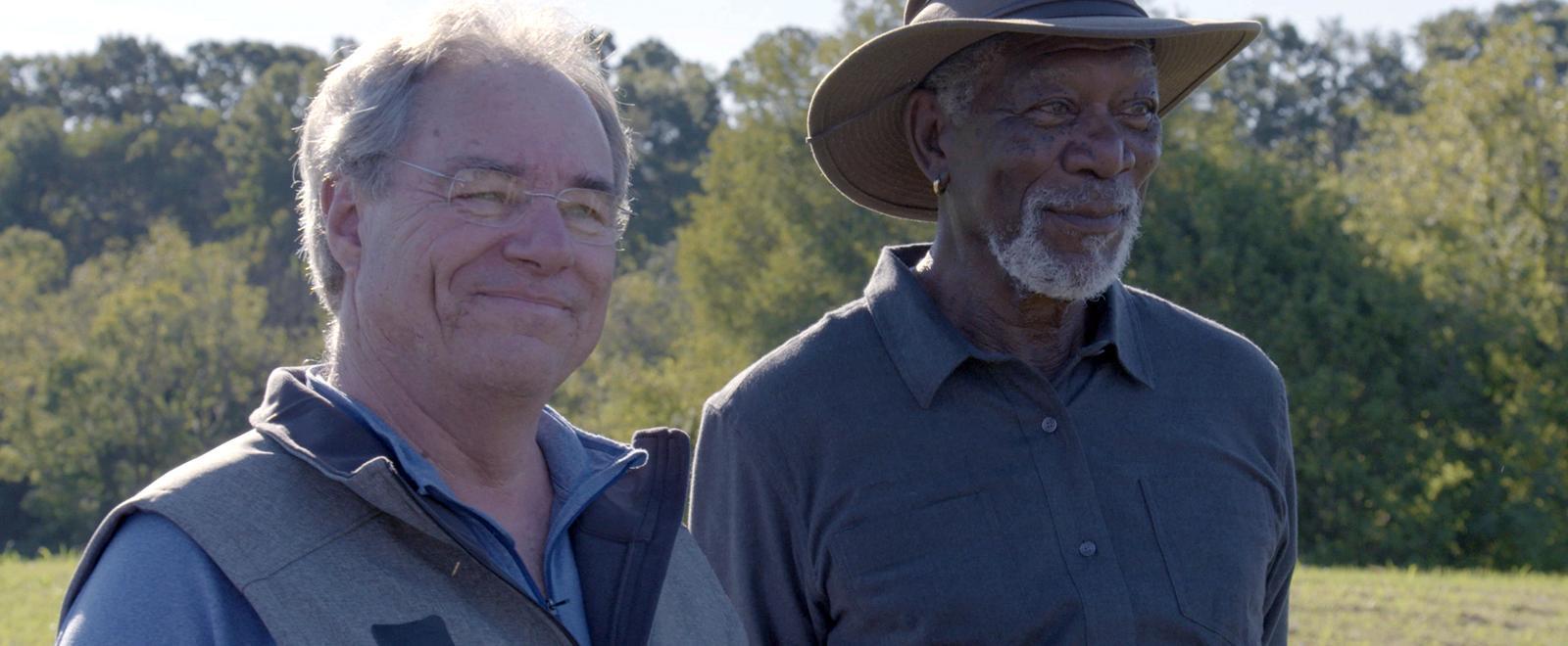 La nostra storia con Morgan Freeman