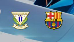 Leganés - Barcelona. 14a g.