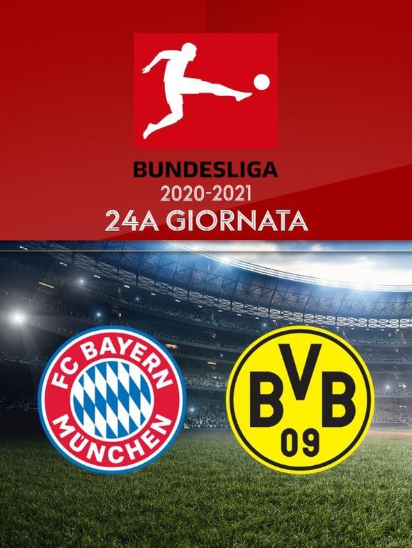 Bayern Monaco - Borussia Dortmund. 24a g.