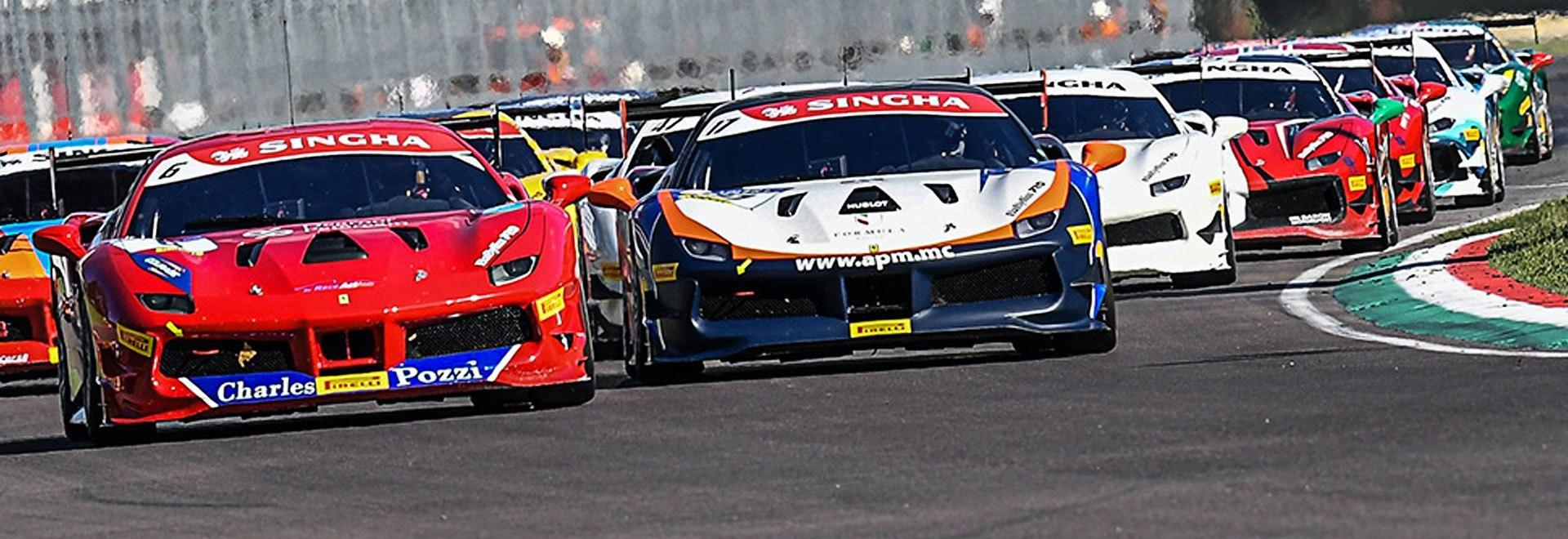 Trofeo Pirelli Barcellona. Gara 1