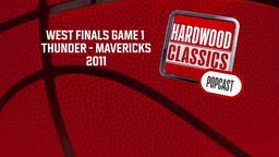 Thunder - Mavericks, 2011. West Finals Game 1
