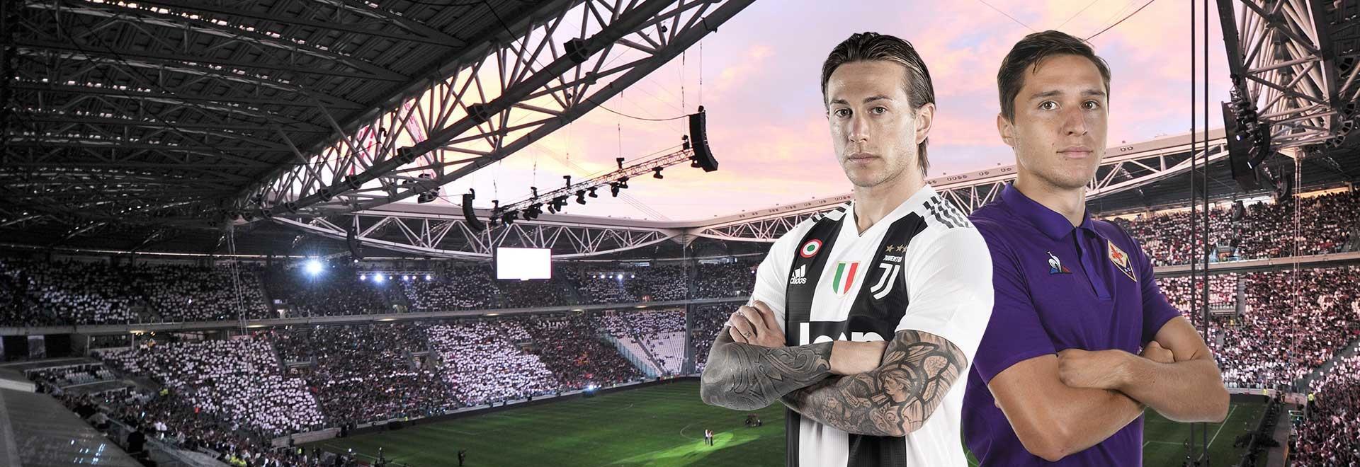 Juventus - Fiorentina. 33a g.
