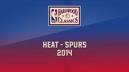 Heat - Spurs 2014. Game 1. Finals