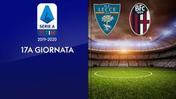 Lecce - Bologna. 17a g.