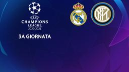 Real Madrid - Inter. 3a g.