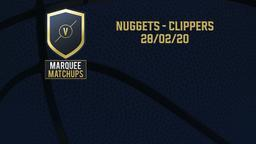 Nuggets - Clippers 28/02/20