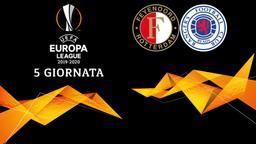 Feyenoord - Rangers. 5a g.