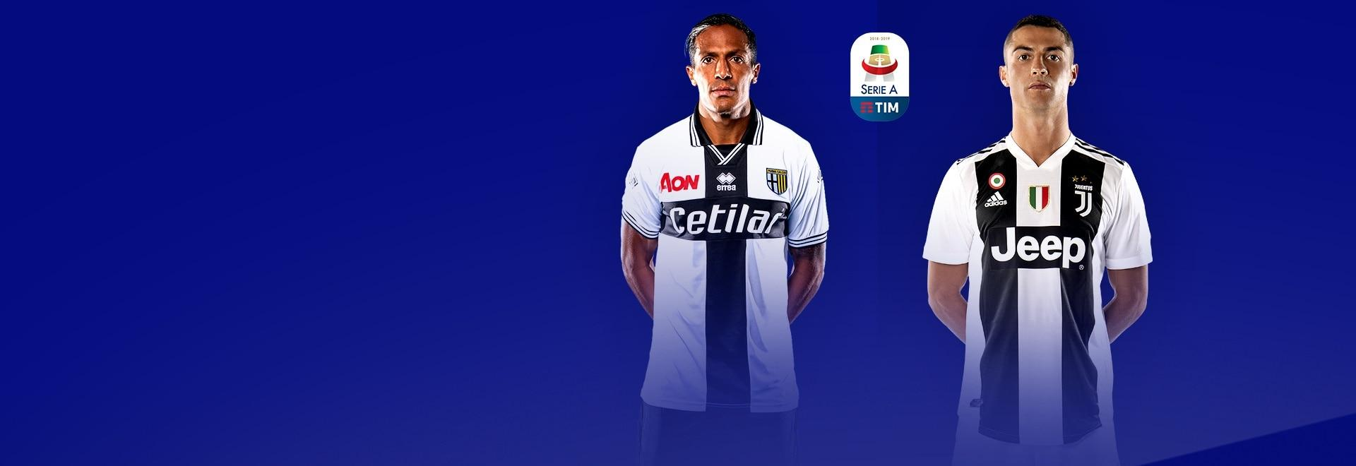 Parma - Juventus. 3a g.