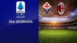 Fiorentina - Milan. 25a g.