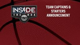 Team Captains & Starters Announcement