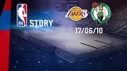 L.A. Lakers - Boston 17/06/10. Finale Gara 7