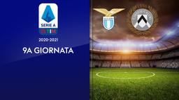 Lazio - Udinese. 9a g.