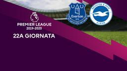 Everton - Brighton & Hove Albion. 22a g.