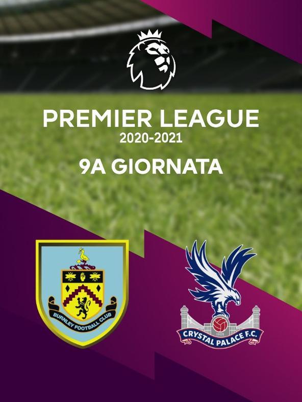 Burnley - Crystal Palace. 9a g.