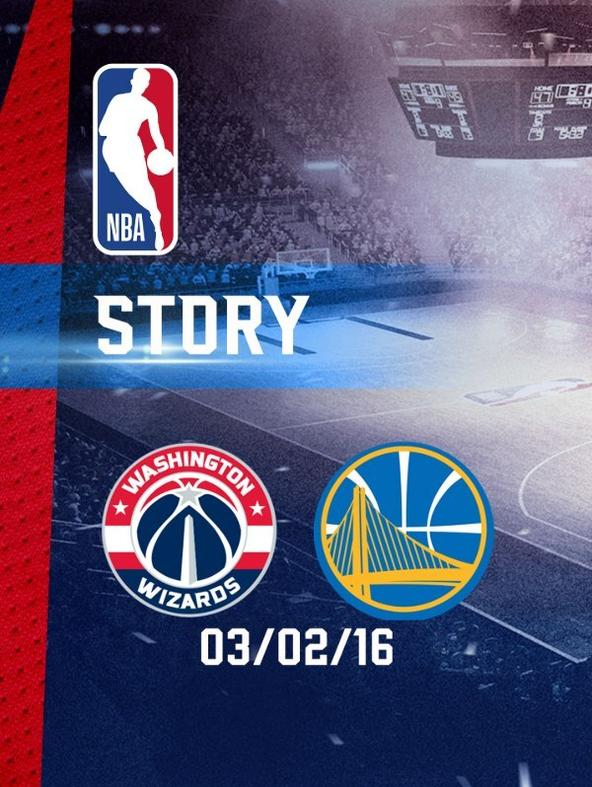 NBA: Washington - Golden State 03/02/16