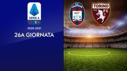 Crotone - Torino. 26a g.