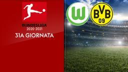 Wolfsburg - Borussia Dortmund. 31a g.