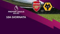 Arsenal - Wolverhampton. 10a g.