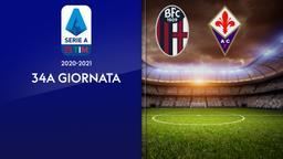 Bologna - Fiorentina. 34a g.