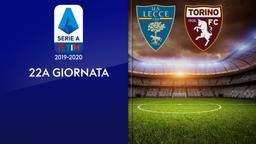 Lecce - Torino. 22a g.