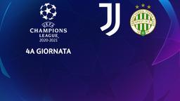 Juventus - Ferencvaros. 4a g.