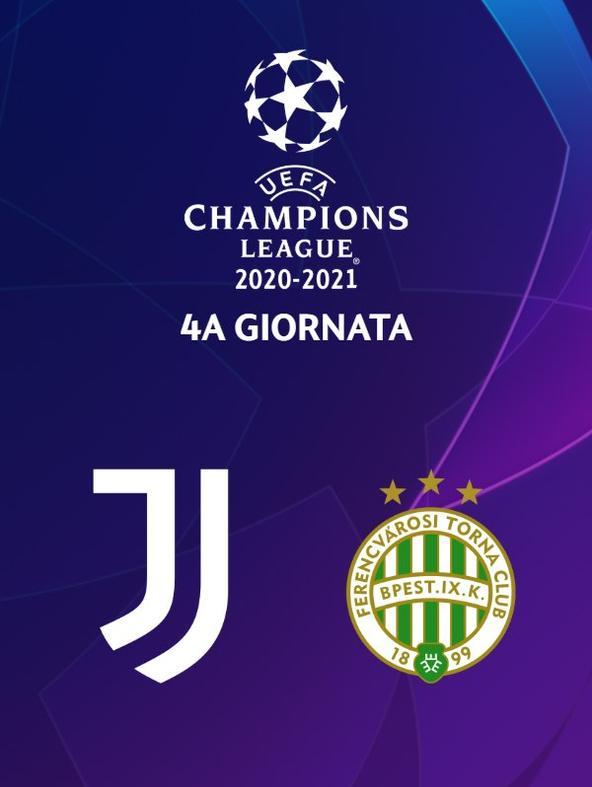 Juventus - Ferencvaros  (diretta)