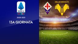 Fiorentina - Verona. 13a g.