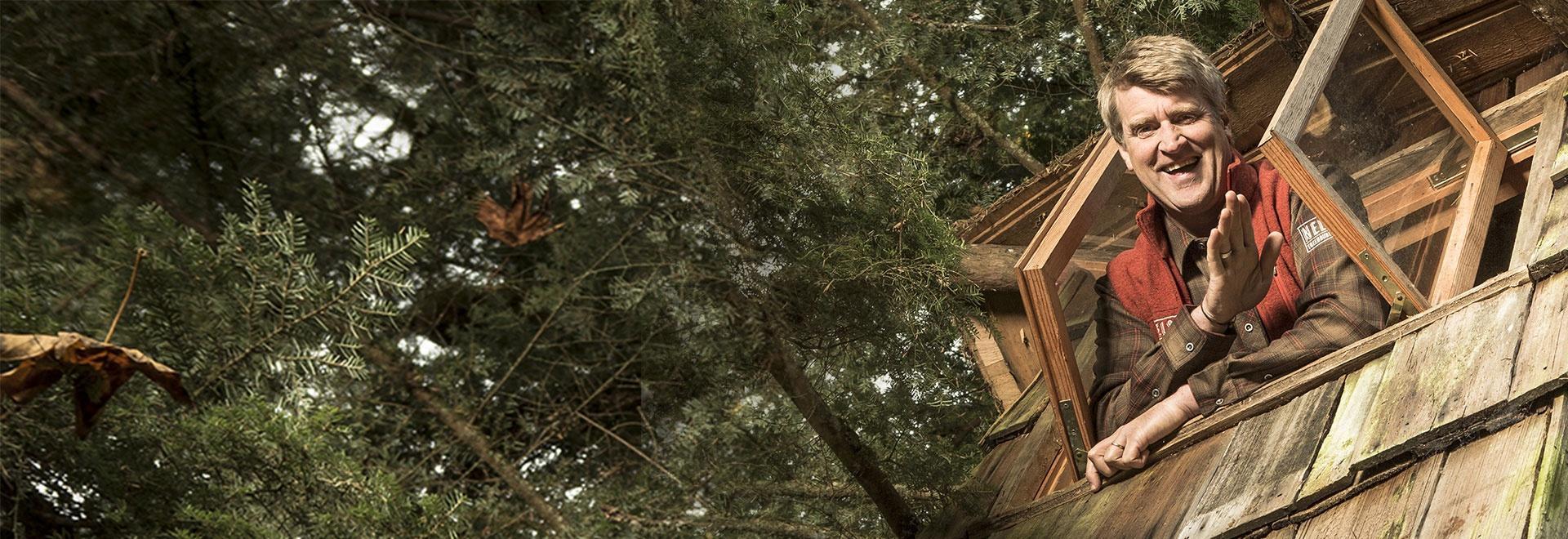 La mia nuova casa sull'albero